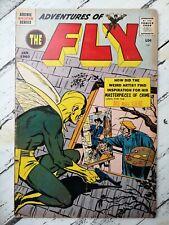 Adventures of the Fly #4 First art Neal Adams !! 1960 HUGE KEY lot Comics
