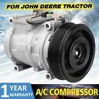 Ac Ac Compressor Fit John Deere Machines Re46609 Se501462 Ty24304 Us New