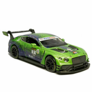 1:32 Bentley GT3 Blancpain Racing Car #7 Model Diecast Vehicle Collection Gift