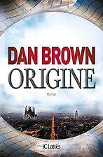 Origine de Brown, Dan | Livre | état bon