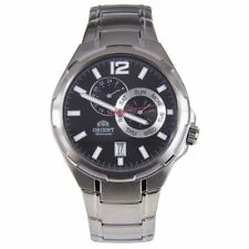Orient ET0L002B Automatic Stainless Strap WR50M Black Dial Mens Dress Watch