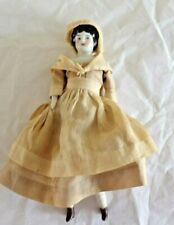 """Antique Marked Germany China Doll Head w/ Full Body Outfit Looks Original 6 3/4"""""""