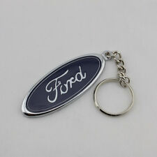 Original Ford Racing Pflaume Logo Schlüsselanhänger Anhänger Keychain Gürtelclip Automobilia