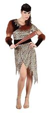 Adult Women 10000 BC Costume Ladies Cave People Fancy Dress Costume