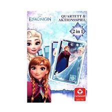 Eiskönigin Quartett + Mau Mau Frozen Anna Elsa Olaf