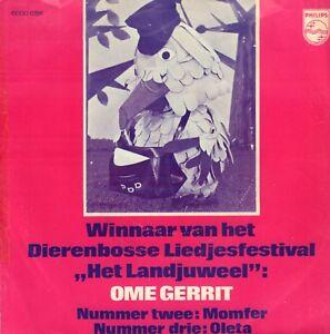 """FABELTJESKRANT - OME GERRIT WINNAAR LIEDJESFESTIVAL HET LANDJUWEEL (1972  7"""")"""