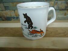 VINTAGE WOLF CUBS CANADA-CERAMIC COFFEE MUG-BALOO-SHERE KHAN-SOUVENIR