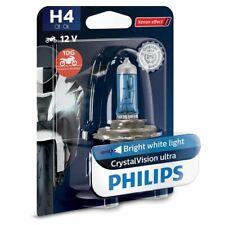 Philips 12342BVUBW H4 BlueVision Moto Motorbike Headlight Bulb(Single)