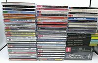 Huge Lot of CLASSICAL CD's 65, EMI, LONDON, DECA, ERATO, TELEARC, SONY,