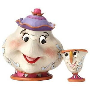 Mrs Potts and Chip Teapot & Cup Beauty and the Beast Jim Shore Disney 4049622