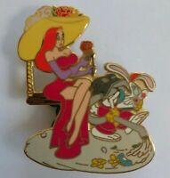 Disney Shopping GARDEN Series JESSICA & ROGER Rabbit Picnic LE250 Pin 61138