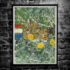 The Stone Roses Poster - Wall Art Print A4 & A3