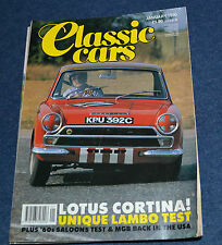 Classic Cars January 1990 Lotus Cortina, Reliant Sabre, HRG, Saab 96