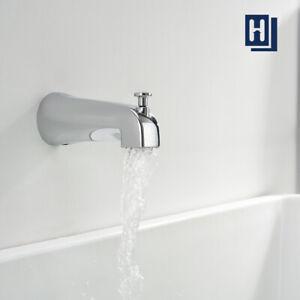 Tub Diverter Spout Bathroom Shower Bathtub Faucet Mixer Tap Wall Mounted Chrome