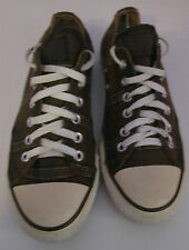 De Colección Unisex Chuck Taylor CONVERSE Marrón comprobado lo entrenador/tamaño del zapato 6