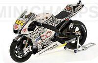 MINICHAMPS 103246 YAMAHA YZR M1 V Rossi 500 Faces Laguna Seca MotoGP 2010 1:12th