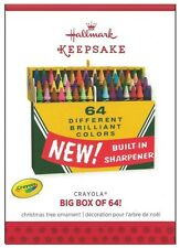 2013 Hallmark Crayola Crayon Big Box of 64 Ornament!