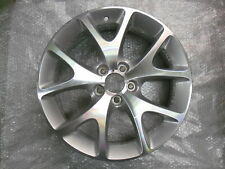 "Vauxhall Corsa D 18 ""VXR RUOTE IN LEGA X 4 IN ARGENTO NUOVO"