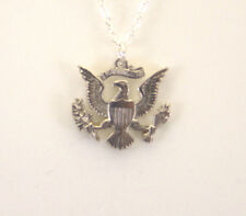 Kennedy Half Presidential Seal, No Stars, Cut-Out Coin, Necklace/Pendant