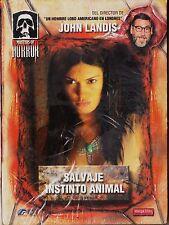 SALVAJE INSTINTO ANIMAL (serie Masters of Horror) de John Landis