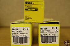 GMC-10A BUSS FUSE COOPER BUSSMANN  LOTS OF 20