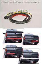 For Toyota Tundra 2007-17 60'' LED Tailgate Strip Bar Truck Brake Reverse Light