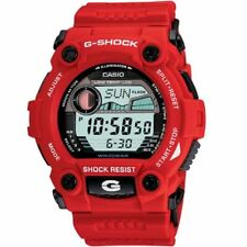 Casio G-Shock G7900A-4 Men's Rescue Moon Tide Graph Red Digital Sports Watch