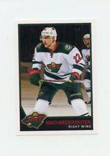 17/18 PANINI NHL STICKER #356 NINO NIEDERREITER WILD *40675