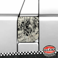 VW Transporter T4 Fuel flap Wrap Manga BD Stickerbomb oilcan Original