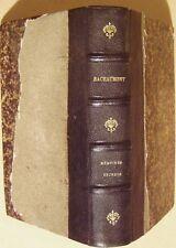 BACHAUMONT L. PETIT de JACOB L. - MEMOIRES SECRETS DU BACHAUMONT - 1859