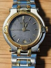 Gucci 9000L Gold & Stainless Steel Ladies Watch