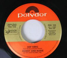 Pop 45 Donny And Marie - Deep Purple / I'M Leaving It All Up To You On Polydor I