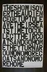 """Felix Gonzalez-Torres × Christopher Wool """"The Show is over"""" poster"""