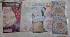 New listing 5 Nip Daisy Kingdom No-sew Fabric Applique - Bunnies & Easter free Us shipping