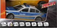 Racer R/C Polizeiwagen mit Licht, 2.4 GHZ, 1:18, Ferngesteuertes Fahrzeug, Läng