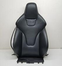 2012 11 12 13 14 15 16 AUDI A4 S4 B8 BLACK LEATHER UPPER SEAT BACK CUSHION OEM