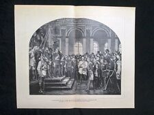 Proclamazione del nuovo impero di germanico,Castello Versailles,18 gennaio 1871