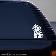 Shih Tzu Dog vinyl decal Lion Dog Best in show puppy sm