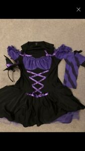Ann Summers Witch  Outfit 14/16 Halloween/goth/sexy