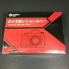 Sony A7RII/A7SII/A7II Silicone Protective Case Skin Cover w/ Guard Glass- NEW