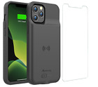 iPhone 11 Pro Max Qi Wireless Charging Battery Case Slim Charger (BX11Pro Max)