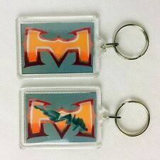 BATTLE ARMOUR DAMAGE Key Ring Chain Keyring He-Man Masters of the Universe MOTU
