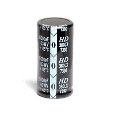 15000uF 15000mfd 63V 35*70 Electrolytic Acoustic Capacitor & USA FREE SHIPPING