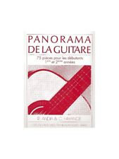 Rafaël Andia Panorama de la guitare Vol1/CD Apprendre Jouer Guitare Sheet Music Book