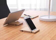 Bergenes Teléfono base madera reversible fieltro forradas tablet soporte IKEA