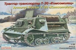 1/35 EASTERN EXPRESS 35004 Armored Tractor T-20