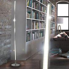 Design LED 12W Lese Steh Stand Leuchte Lampe Beleuchtung Chrom Büro Flur modern
