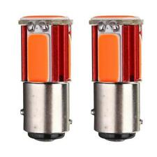 2x Red 1157 BAY15D COB LED Car Tail Stop Brake Light Turn Signal Lamp 12V OZ AU