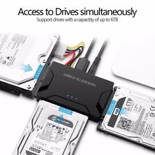 "/PATA/IDE to USB 3.0  Converter Cable for Hard  Disk 2.5"" 3.5"""