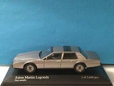 Minichamps 1: 43 Aston Martin Lagonda 1982 Grey met. Modell Nr. 400 137800